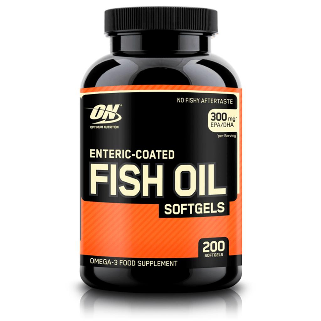 Fish oil softgels 100 caps gymstation for Optimum nutrition fish oil
