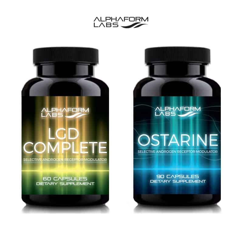 Ostarine MK (90 Caps) & LGD Complete (60 Caps)