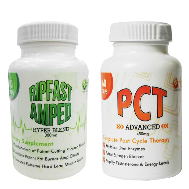 Prohormones Rip Fast Amped & PCT Advanced